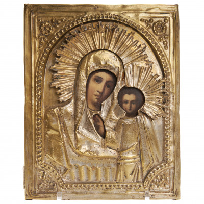 "Icon ""The Virgin of Kazan"""