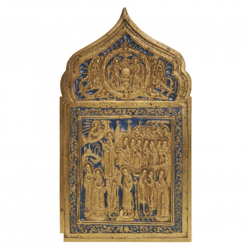 """Icon """"Intercession of the Theotokos"""""""