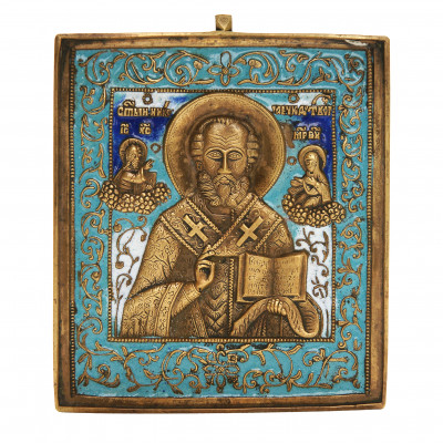 """Icon """"Saint Nicholas the Miracle-Worker"""""""