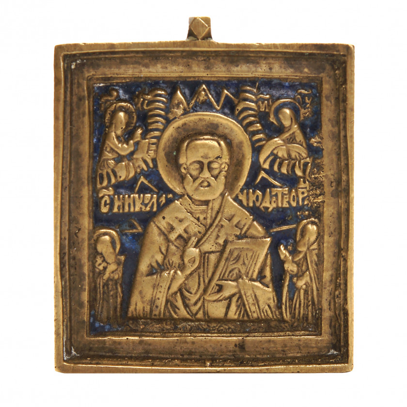 "Icon ""Saint Nicholas the Miracle-Worker"""