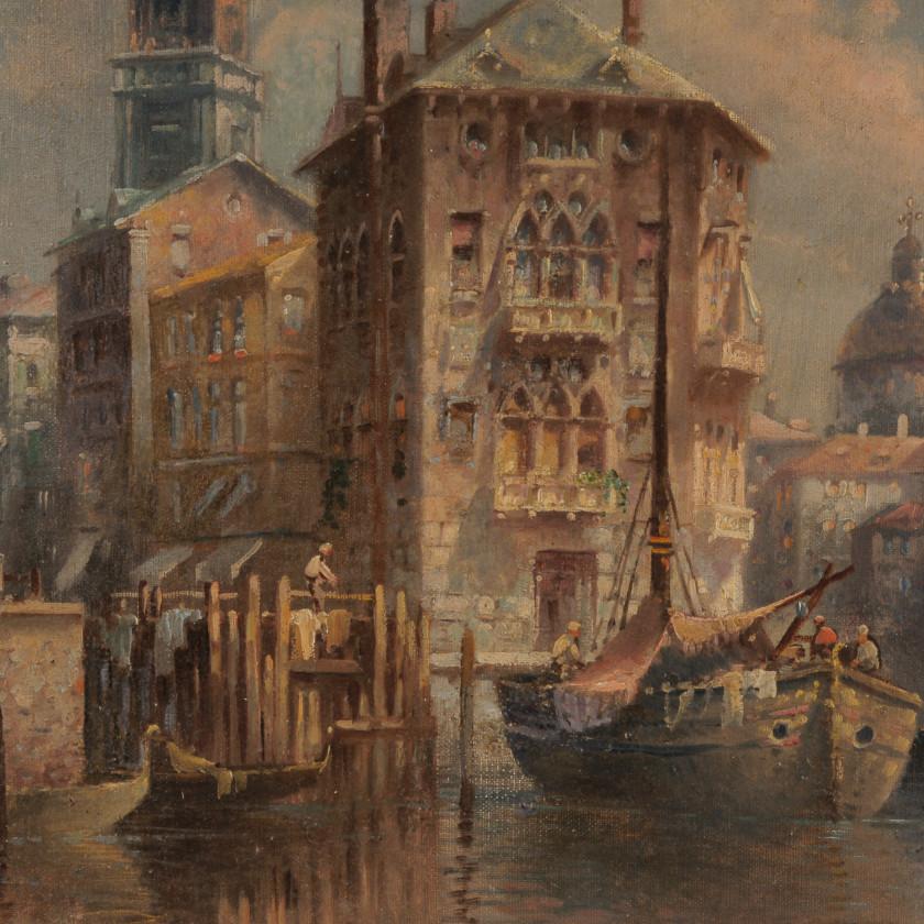 "Painting ""Venice"""