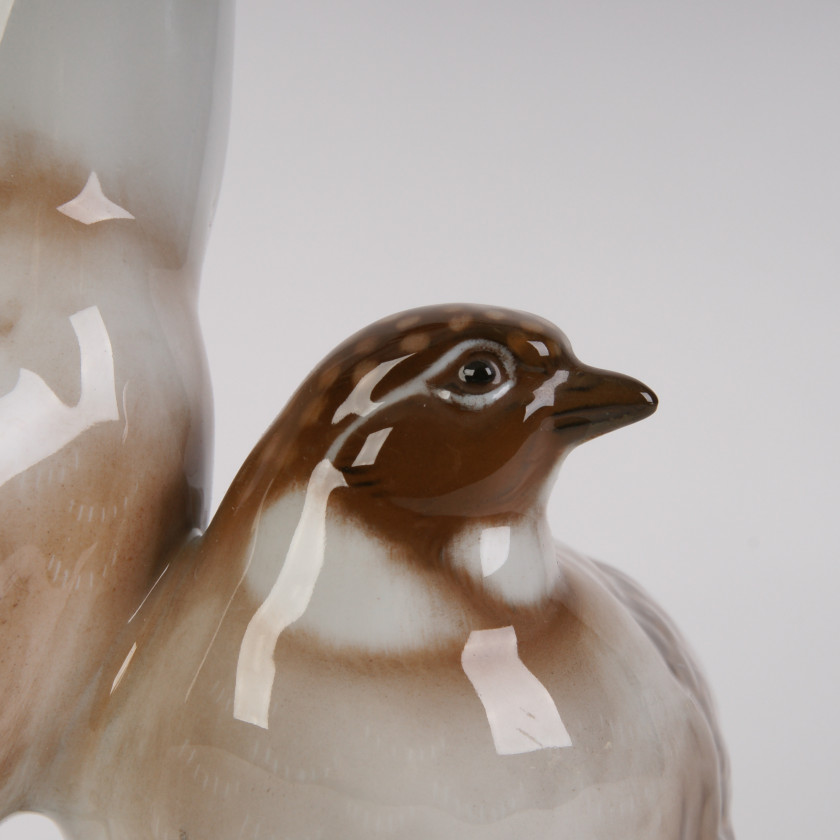 "Porcelain figure ""Partridges"""
