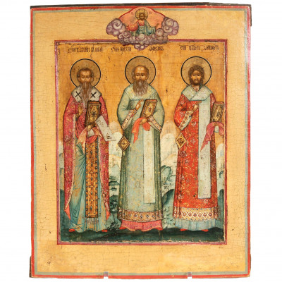 "Icon ""Three Theologians"""