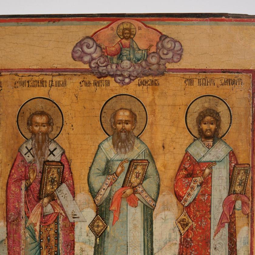 "Icon ""Three Theologians"""