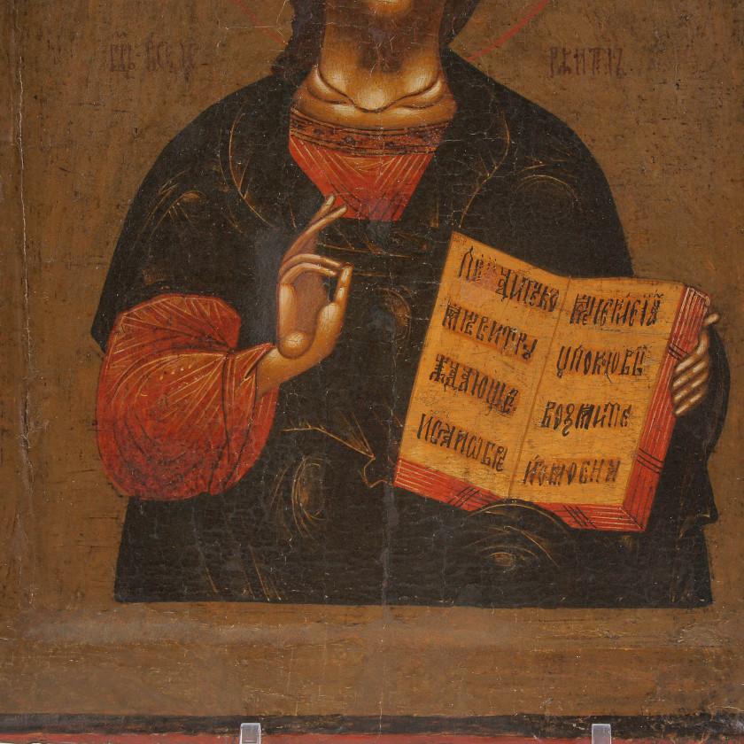 """Ikona """"Kristus Visuvaldītājs"""""""