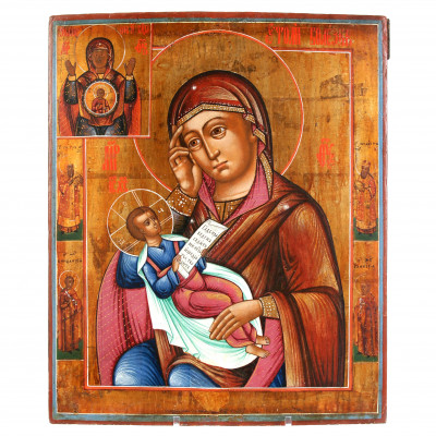 "Icon ""The Virgin, Reliever of Sorrows"""