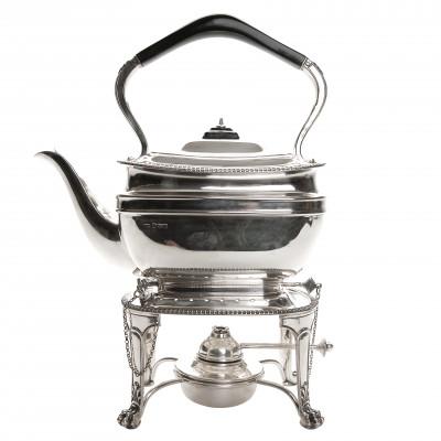 Silver bouilloire