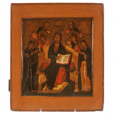 "Icon ""Jesus Christ Enthroned"""