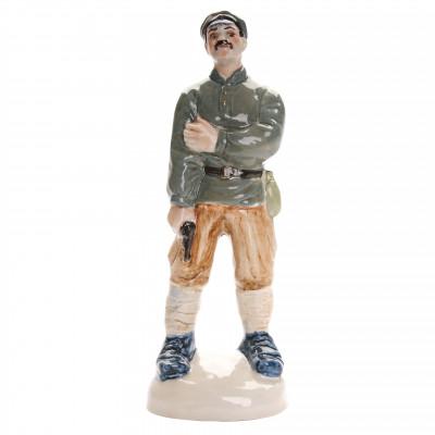 """Porcelain figure """"Comrade Sukhov"""""""