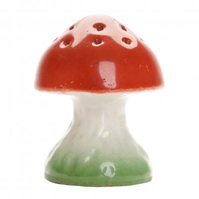 """Porcelain salt shaker """"Mushroom"""""""