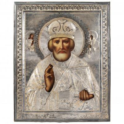 """Ikona """"Svētais Nikolajs Brīnumdarītājs"""""""