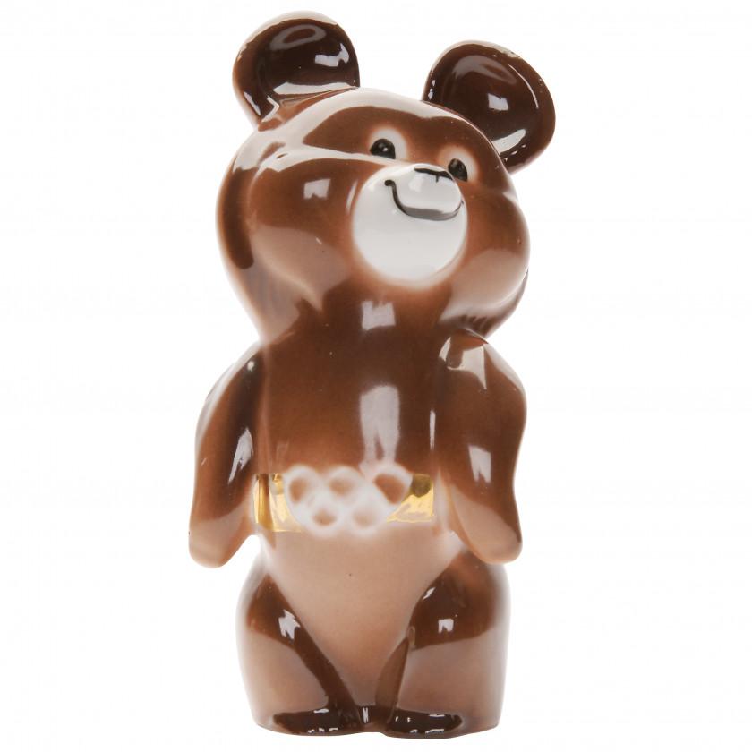 "Porcelain figure ""Olympic Bear"""