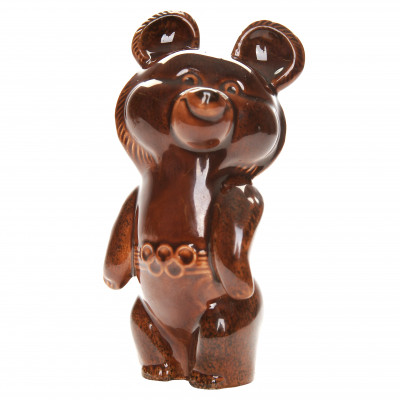 "Porcelain figure ""Olympic Bear"""