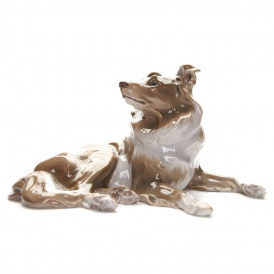 "Porcelain figure ""Collie"""