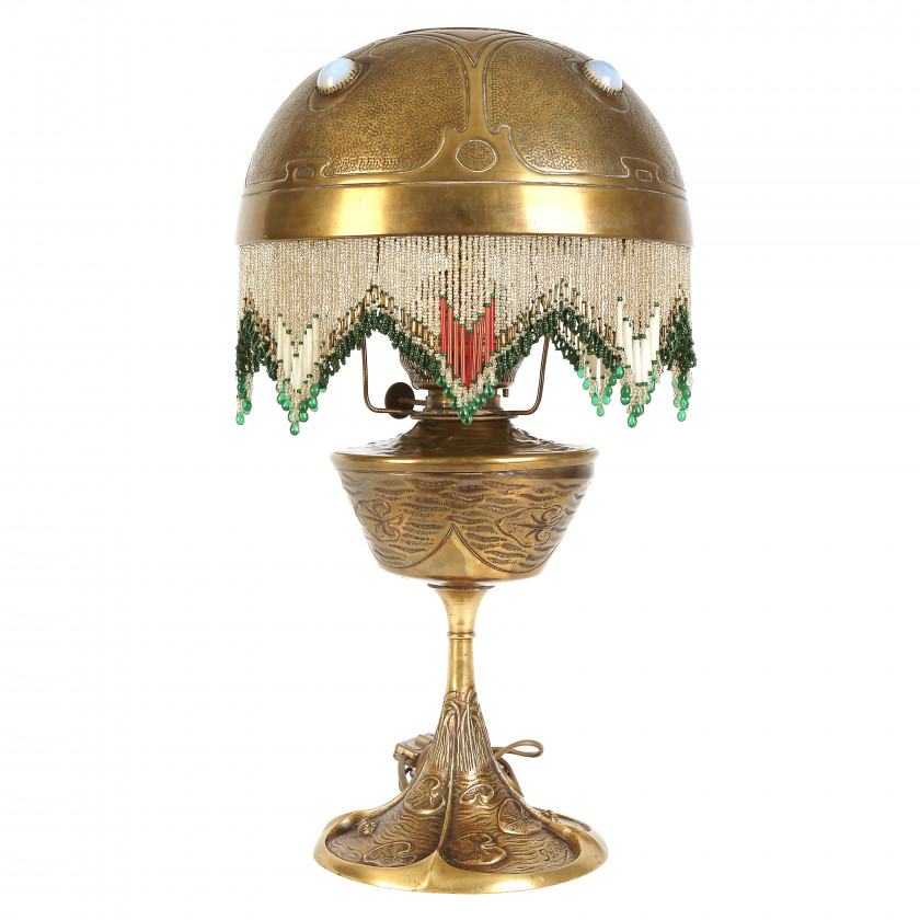 Table lamp in Art Nouveau style