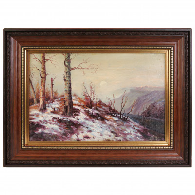 "Painting ""Winter landscape"""
