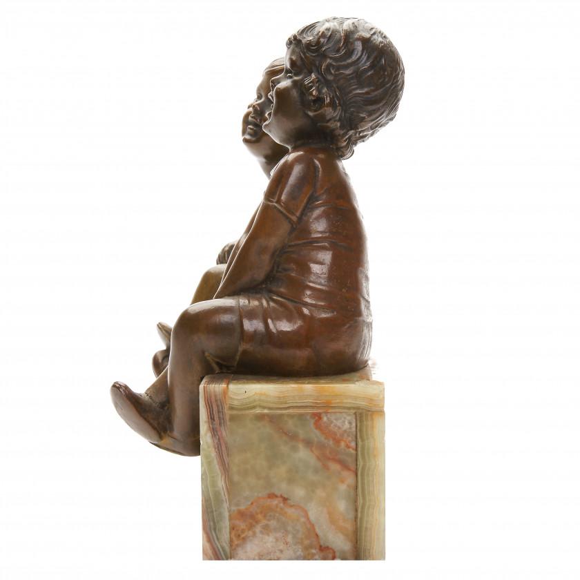 """Bronze figure """"Children"""""""