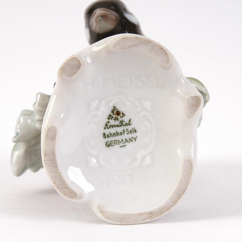"""Porcelain figure """"Sparrow"""""""
