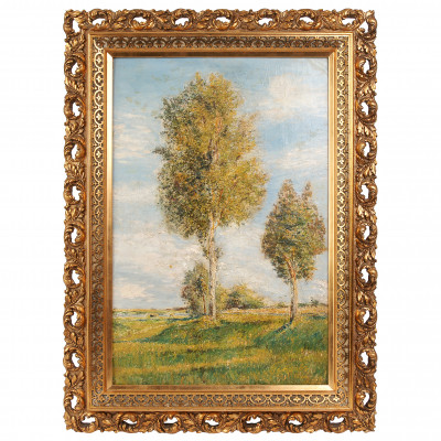 """Painting """"Birches"""""""