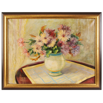 "Painting ""Still life with asters"""