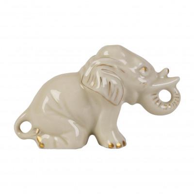 """Porcelain figurine """"Elephant"""""""