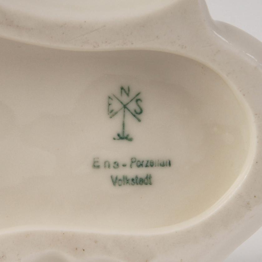 """Porcelāna figūra """"Divi Krievu kurti"""""""