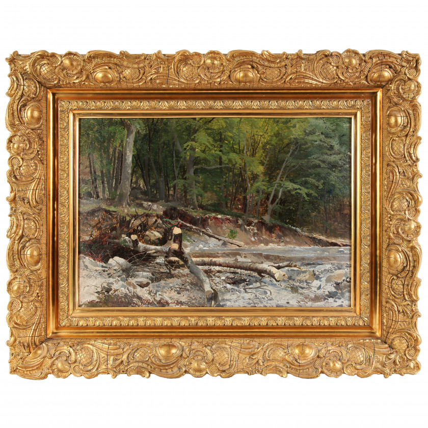 """Glezna """"Meža ainava pie Gurzufa"""""""