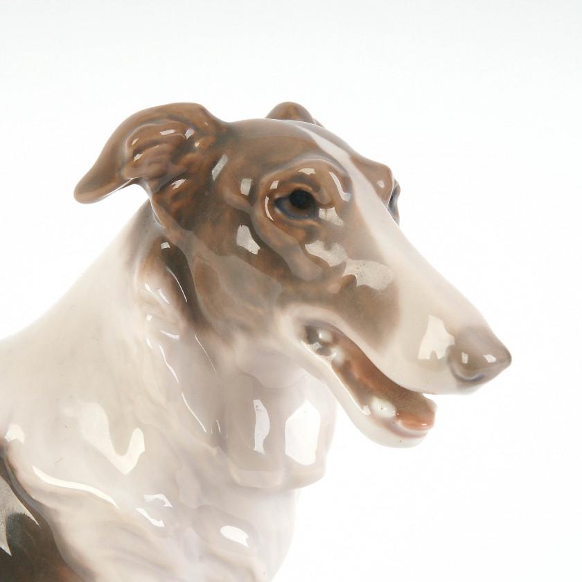 "Porcelain figure ""Russian borzoi"""
