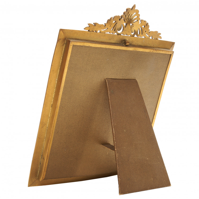 Bronze photo frame