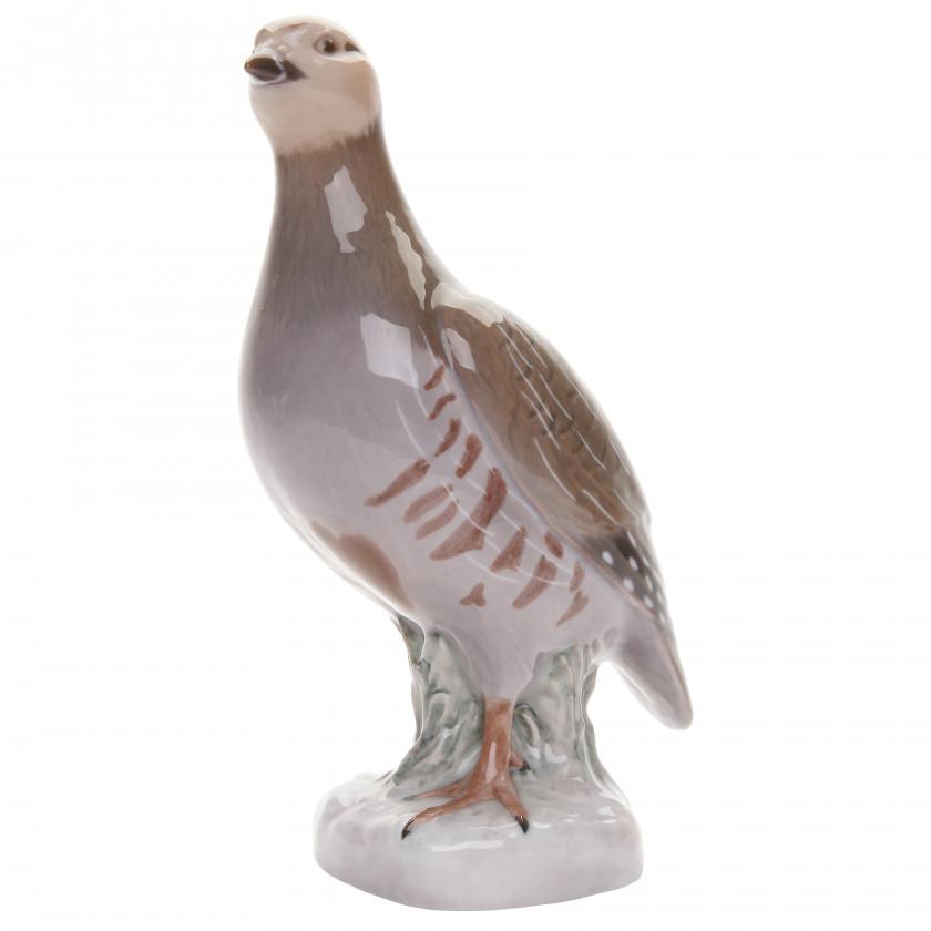 """Porcelain figure """"Partridge"""""""