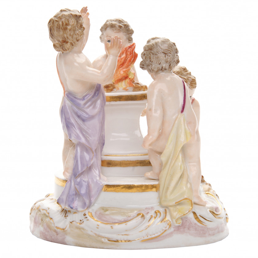 "Porcelain figure ""Allegory - Winter"""