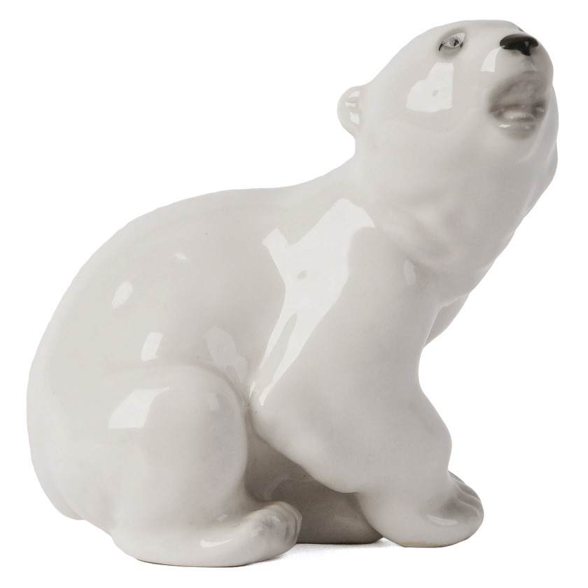"Porcelain figure ""Bear"""