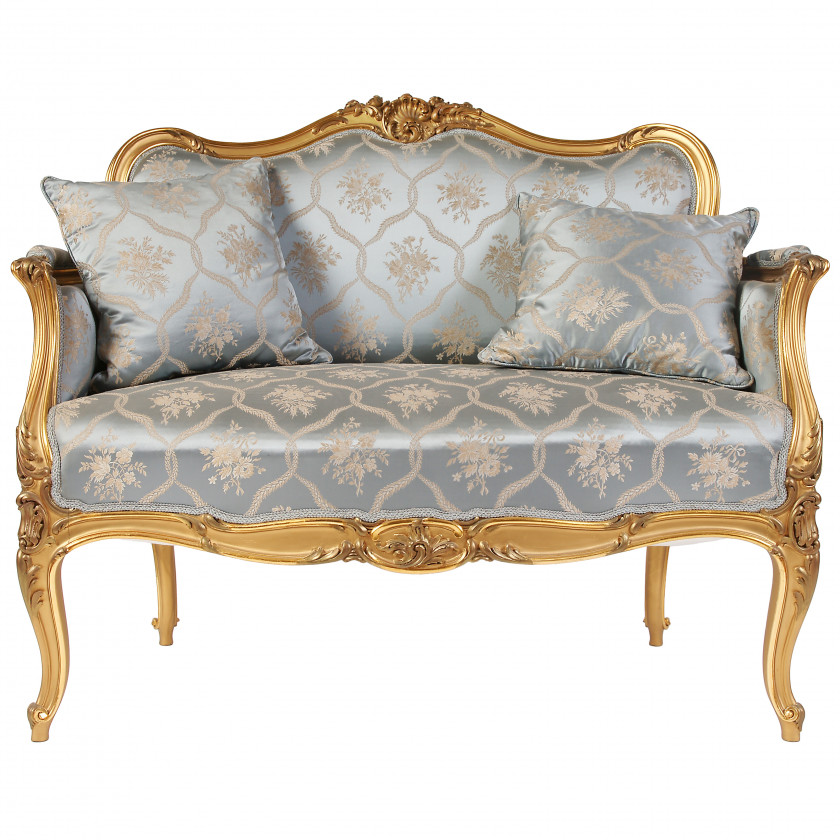 Set of furniture in rococo style