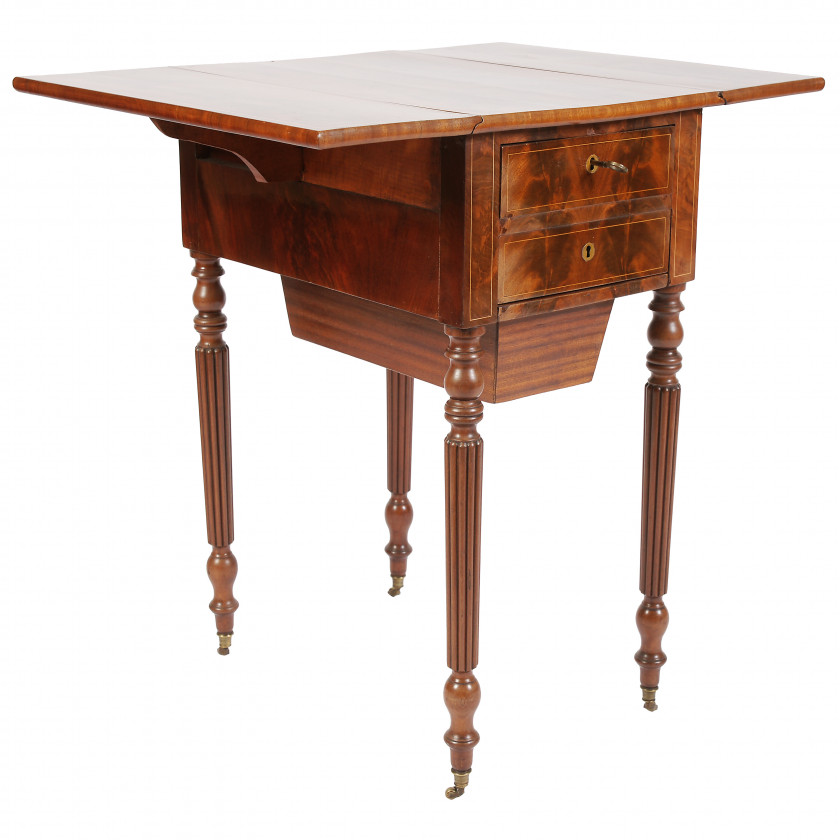 Mahogany Work Table