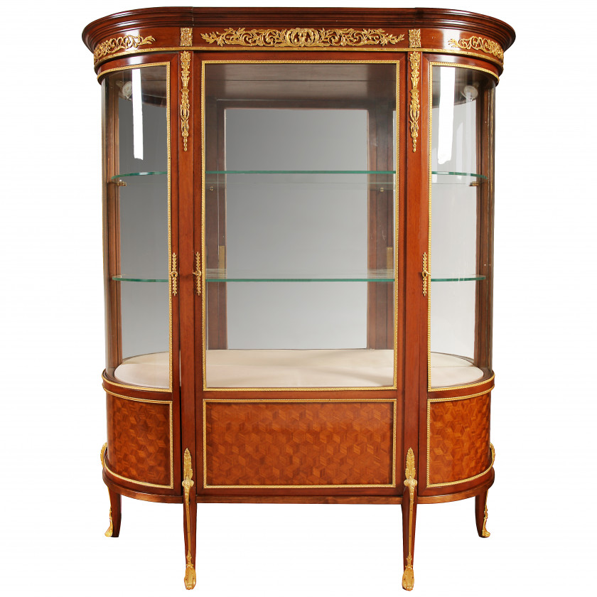 Showcase in classicism style