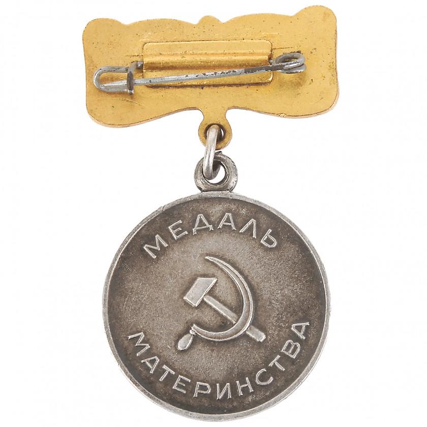 Медаль материнства, 1 степень