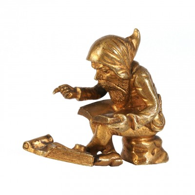 "Bronze press for paper ""Gnome"""