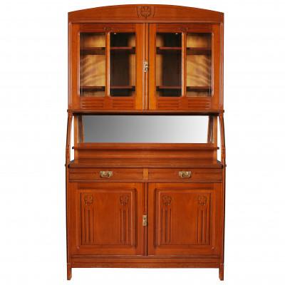 Cupboard in Art Nouveau style