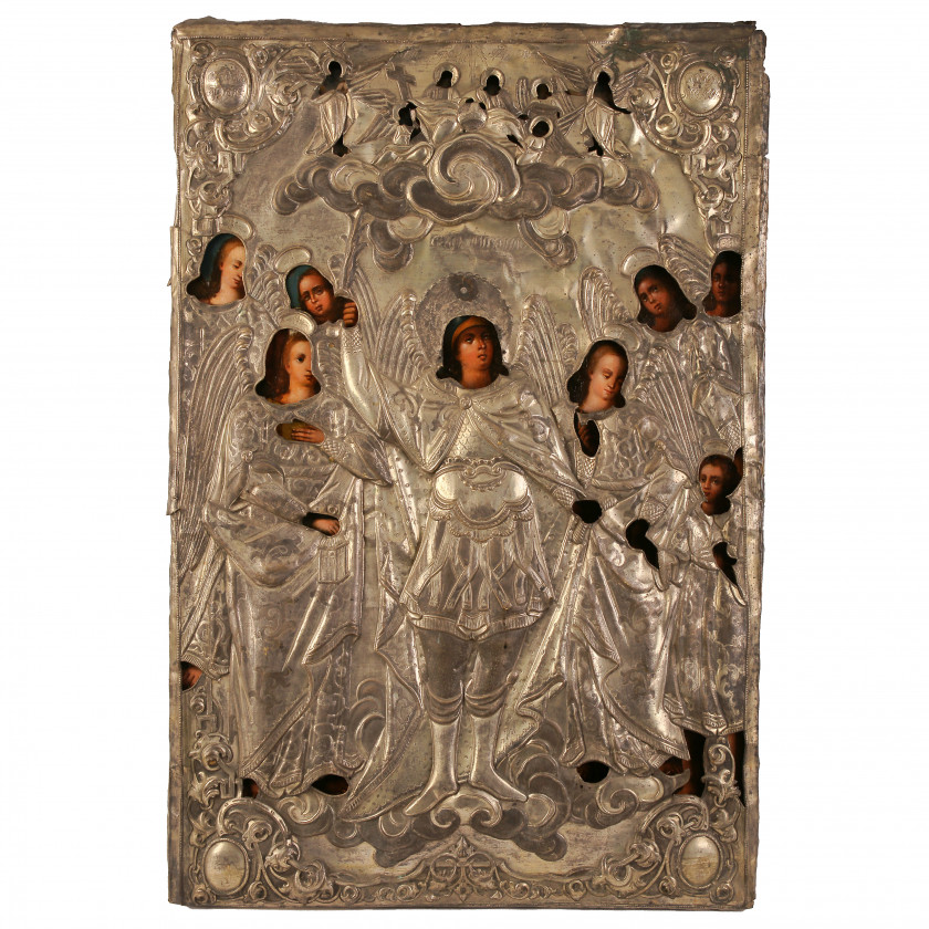 """Icon """"The Synaxis of the Archangel Michael"""""""