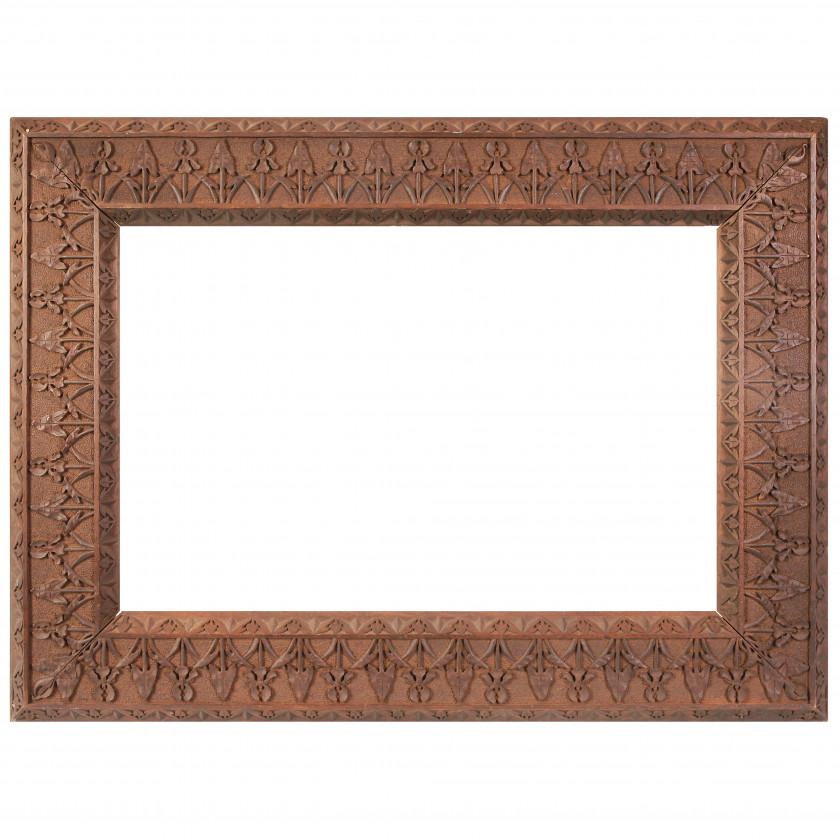 Резная деревянная рама для картины