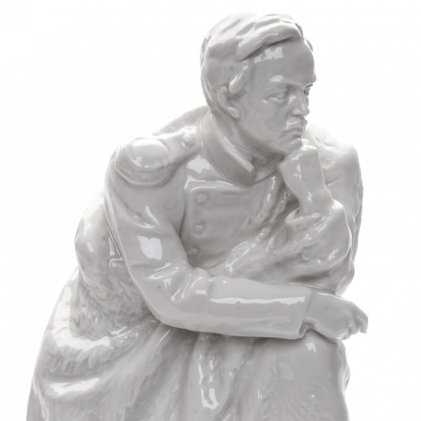 "Porcelain figure ""Lermantov on a rock"""