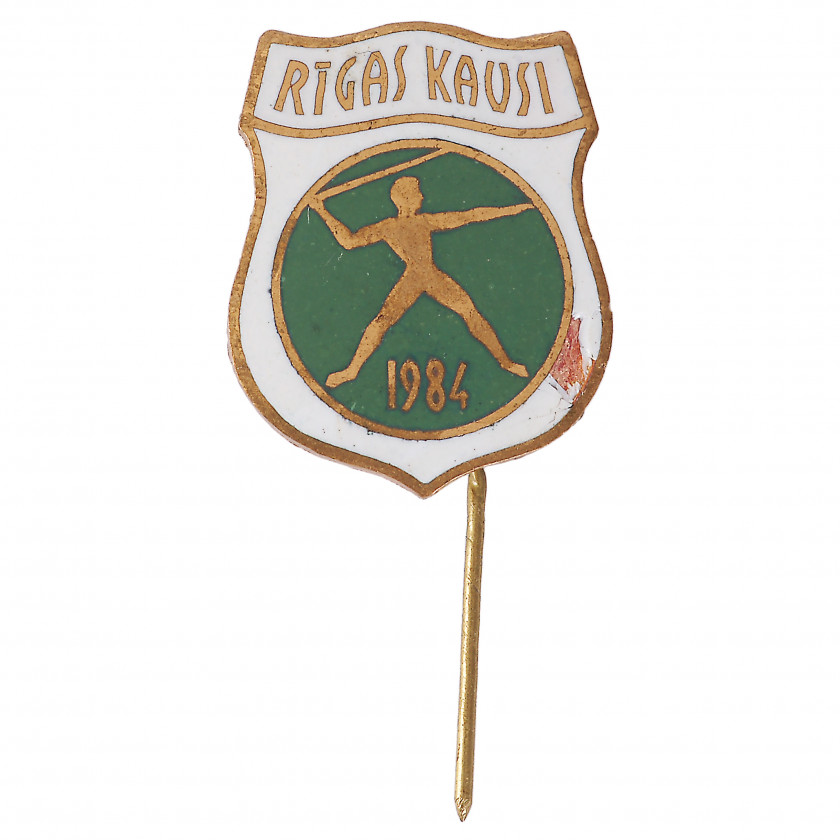 "Badge ""Riga Cup"""