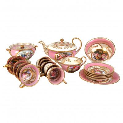 Porcelain tea and coffee set