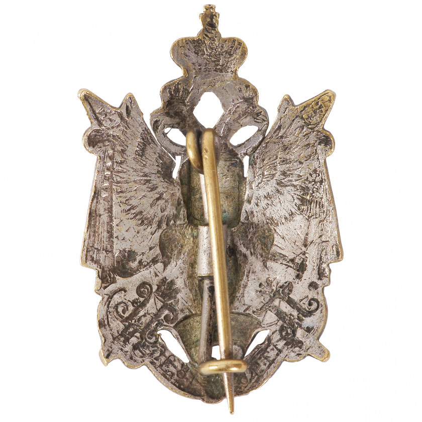 "Badge ""113th Staraya - Russa infantry regiment"""