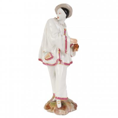 """Porcelain figure """"Harlequin"""""""