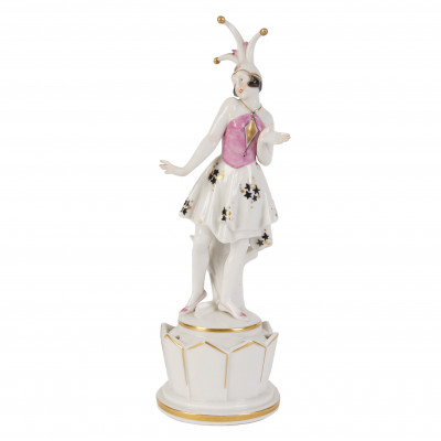 "Porcelain figure ""Columbina"""