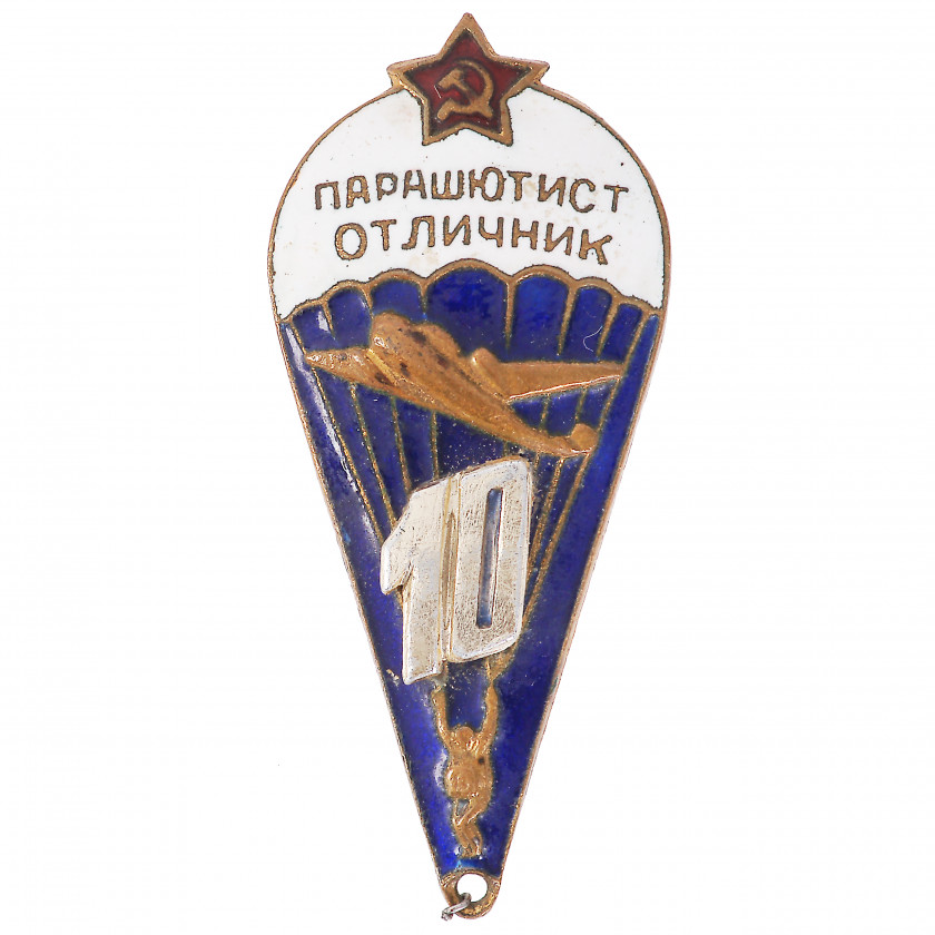 "Badge ""Excellent Parachutist of Soviet Armed Forces"""