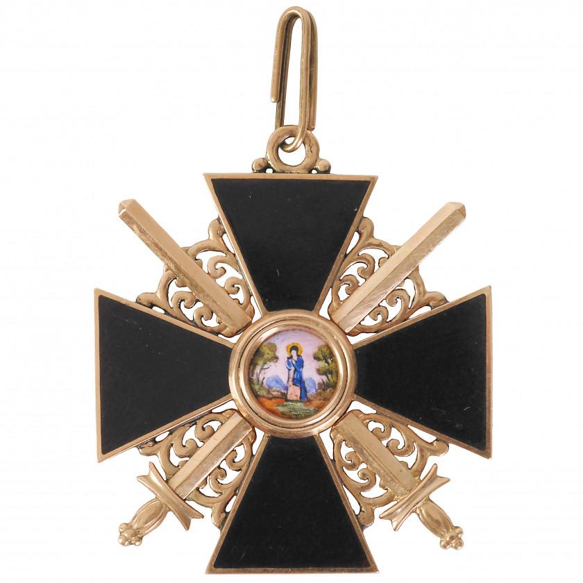 """Орден """"Святой Анны"""", 3-я степень"""