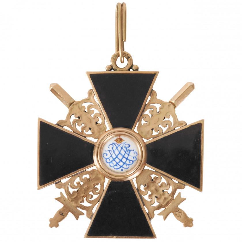 """Order """"Of Saint Anna"""", 3rd class"""
