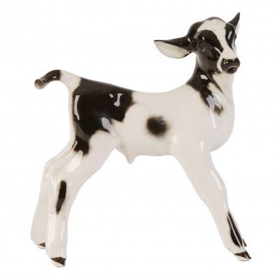 "Porcelain figure ""Bull calf"""